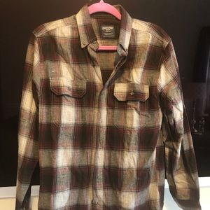 Other - Red and black flannel shirt